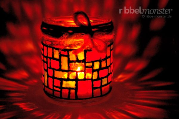Tinker Christmas Mosaic Lantern
