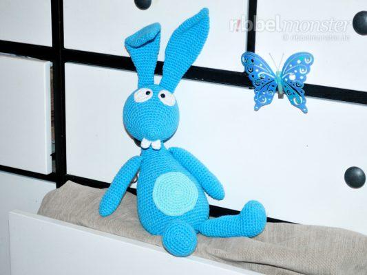 "Amigurumi – Crochet Bunny ""Harvey"""