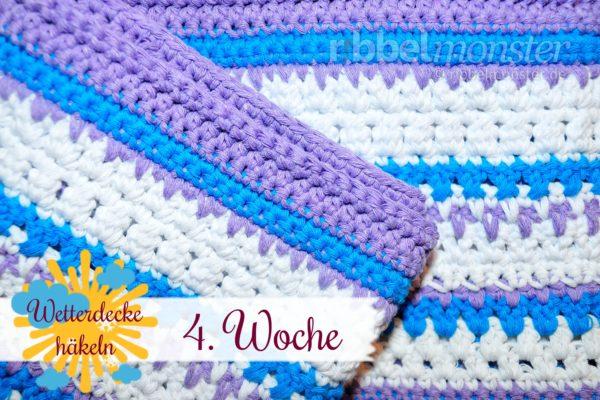 Crochet Weather Blanket – CAL – 4th Week