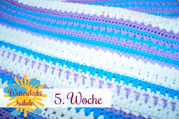 Crochet Weather Blanket – CAL – 5th Week