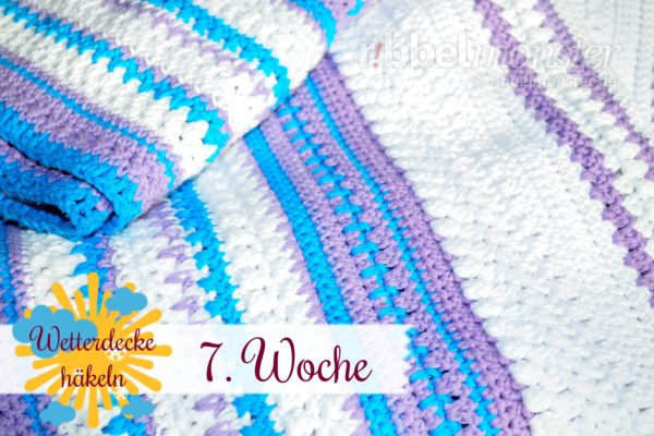 Crochet Weather Blanket – CAL – 7th Week