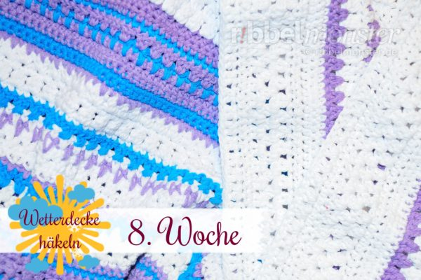 Crochet Weather Blanket – CAL – 8th Week