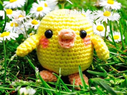 "Amigurumi – Crochet Little Chick ""Kiiroitori"""