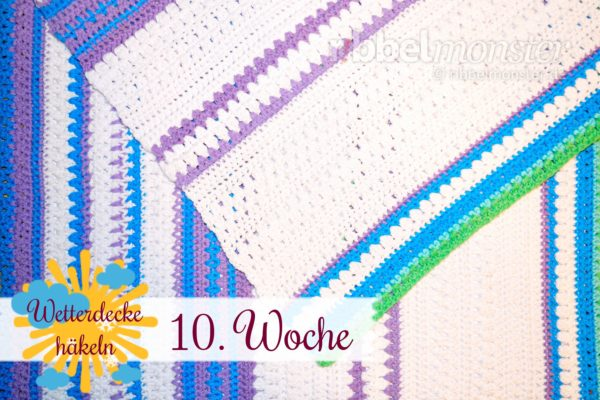 Crochet Weather Blanket – CAL – 10th Week