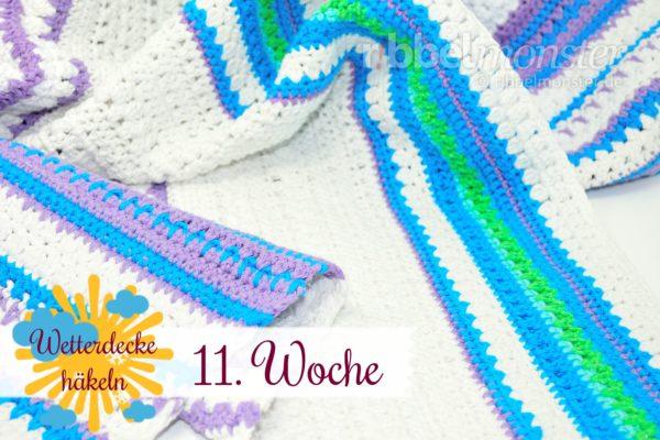 Crochet Weather Blanket – CAL – 11th Week