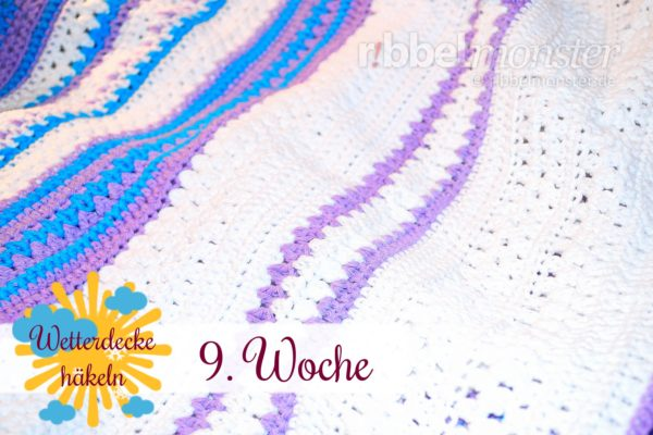 Crochet Weather Blanket – CAL – 9th Week