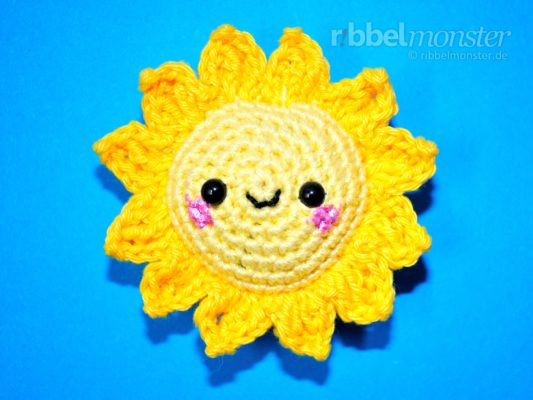 "Amigurumi – Crochet Small Sun ""Sunshine"""