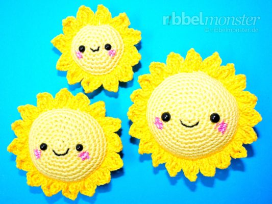 "Amigurumi – Crochet Suns ""Sunshine"""