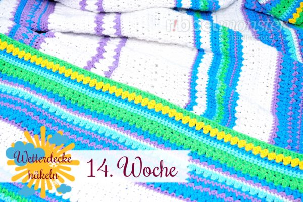 Crochet Weather Blanket – CAL – 14th Week