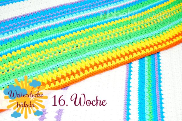 Crochet Weather Blanket – CAL – 16th Week