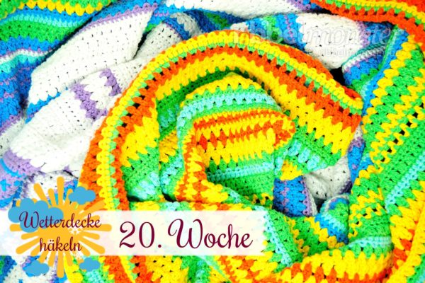 Crochet Weather Blanket – CAL – 20th Week