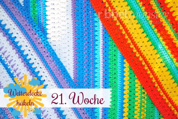 Crochet Weather Blanket – CAL – 21st Week