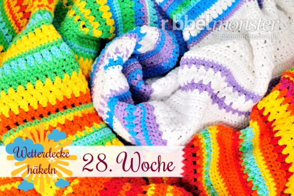Crochet Weather Blanket – CAL – 28th Week