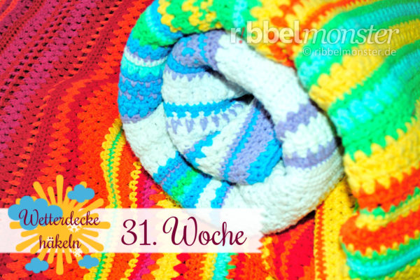 Crochet Weather Blanket – CAL – 31st Week