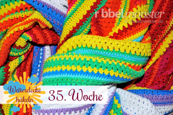 Crochet Weather Blanket – CAL – 35th Week