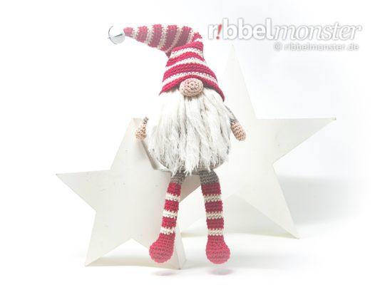 "Amigurumi – Crochet Christmas Gnome ""Terentius Tenuis"""