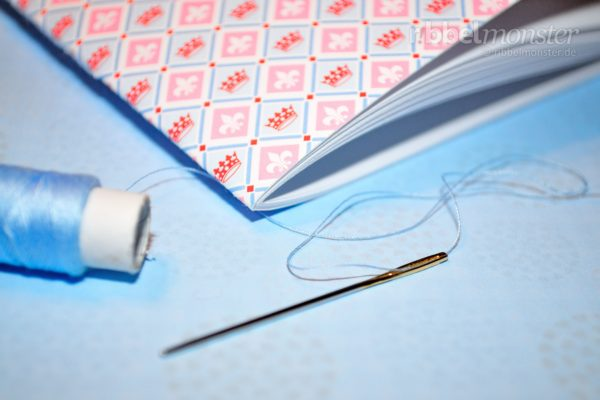 Bind a Book – with Needle and Thread